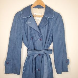 Vintage London Fog Belted Double Breasted Raincoat